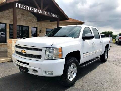 2011 Chevrolet Silverado 1500 for sale at Performance Motors Killeen Second Chance in Killeen TX