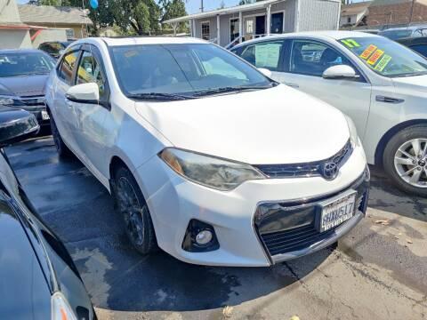 2016 Toyota Corolla for sale at Rey's Auto Sales in Stockton CA