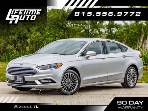 2018 Ford Fusion for sale at Lifetime Auto in Elwood IL