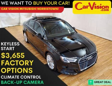 2017 Audi A3 for sale at Car Vision Mitsubishi Norristown in Trooper PA
