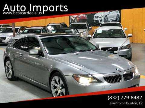 2005 BMW 6 Series for sale at Auto Imports in Houston TX