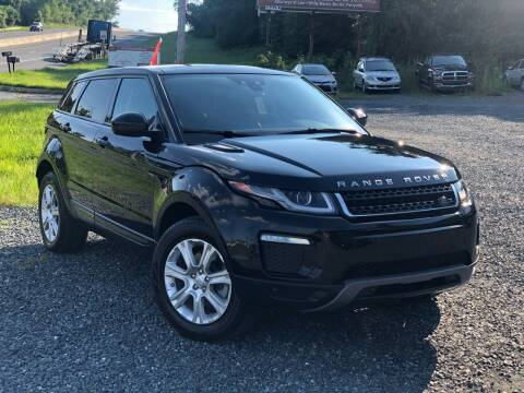 2018 Land Rover Range Rover Evoque for sale at A&M Auto Sales in Edgewood MD