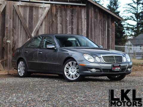 2007 Mercedes-Benz E-Class for sale at LKL Motors in Puyallup WA