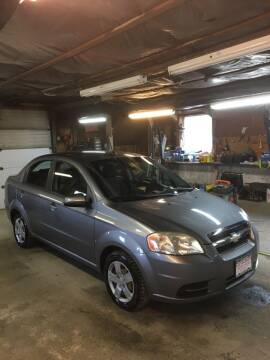2009 Chevrolet Aveo for sale at Lavictoire Auto Sales in West Rutland VT