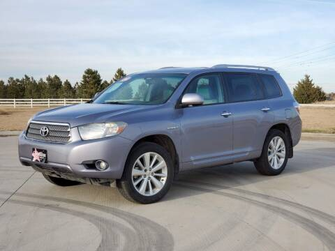 2008 Toyota Highlander Hybrid for sale at Chihuahua Auto Sales in Perryton TX