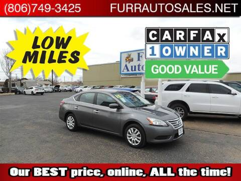 2015 Nissan Sentra for sale at FURR AUTO SALES in Lubbock TX