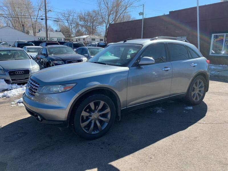 2003 Infiniti FX45 for sale at B Quality Auto Check in Englewood CO