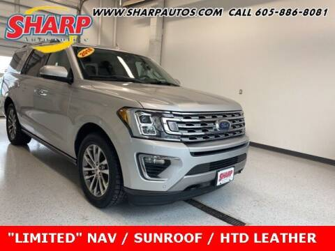 2018 Ford Expedition for sale at Sharp Automotive in Watertown SD