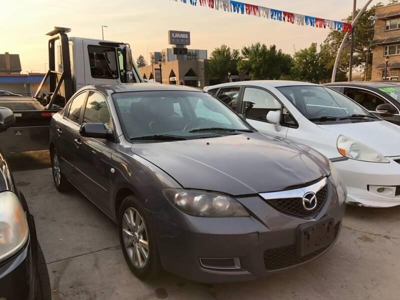2008 Mazda MAZDA3 for sale at Capitol Hill Auto Sales LLC in Denver CO