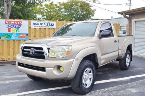 2006 Toyota Tacoma for sale at ALWAYSSOLD123 INC in Fort Lauderdale FL