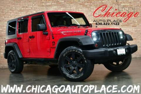 2010 Jeep Wrangler Unlimited for sale at Chicago Auto Place in Bensenville IL