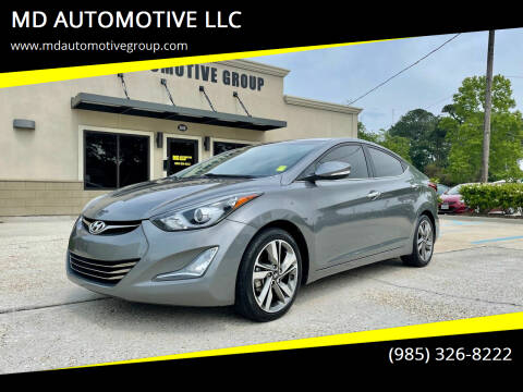 2014 Hyundai Elantra for sale at MD AUTOMOTIVE LLC in Slidell LA