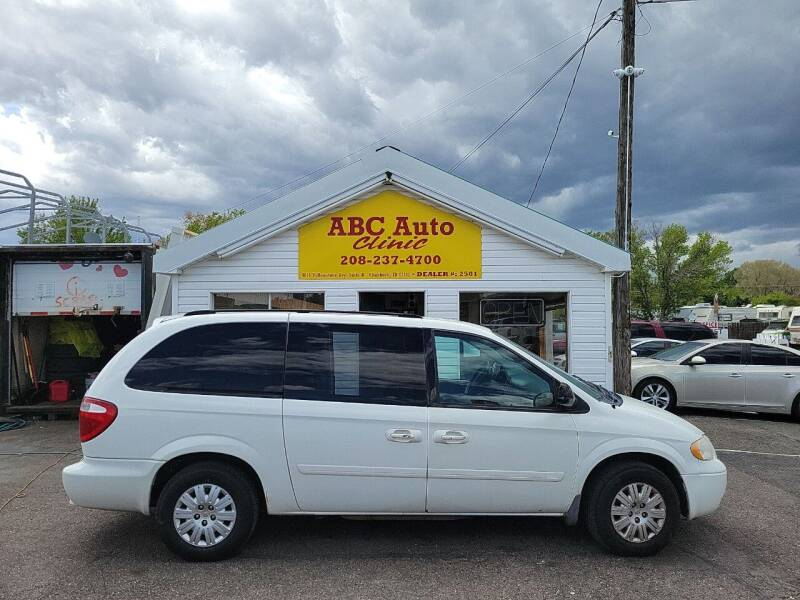2007 Chrysler Town and Country for sale at ABC AUTO CLINIC - Chubbuck in Chubbuck ID