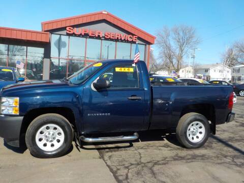 2011 Chevrolet Silverado 1500 for sale at Super Service Used Cars in Milwaukee WI