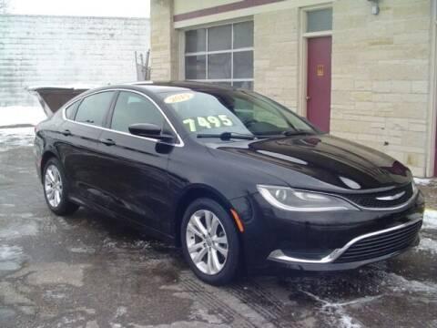 2015 Chrysler 200 for sale at G & L Auto Sales Inc in Roseville MI