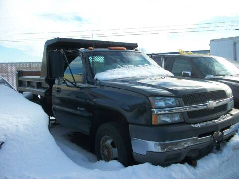 2003 Chevrolet Silverado 3500 for sale at Lloyds Auto Sales & SVC in Sanford ME