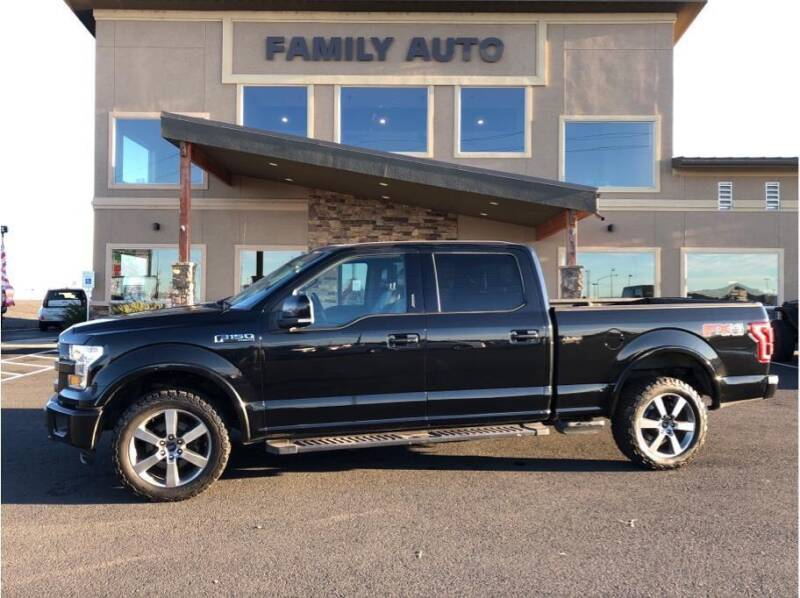 2015 Ford F-150 for sale at Moses Lake Family Auto Center in Moses Lake WA