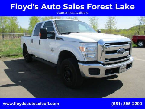 2016 Ford F-250 Super Duty for sale at Floyd's Auto Sales Forest Lake in Forest Lake MN