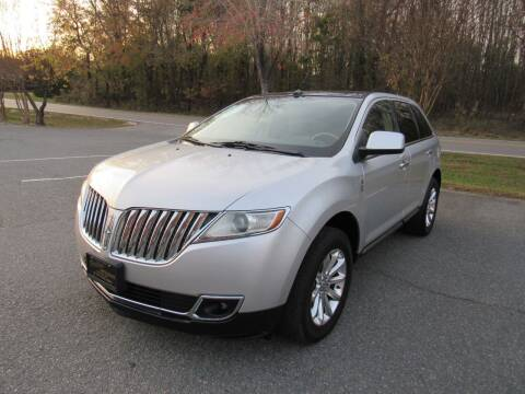 2011 Lincoln MKX for sale at Pristine Auto Sales in Monroe NC