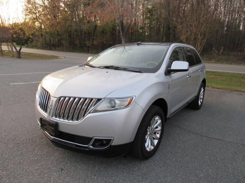 2011 Lincoln MKX for sale at Pristine Auto Sales in Monroe NC