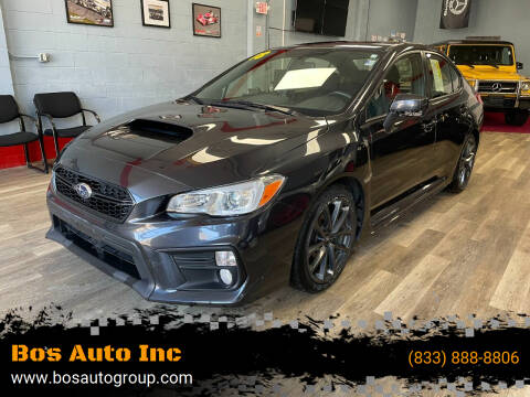 2018 Subaru WRX for sale at Bos Auto Inc in Quincy MA