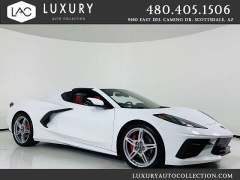 2020 Chevrolet Corvette for sale at Luxury Auto Collection in Scottsdale AZ