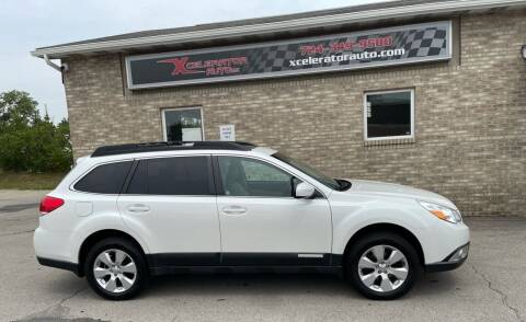 2011 Subaru Outback for sale at Xcelerator Auto LLC in Indiana PA