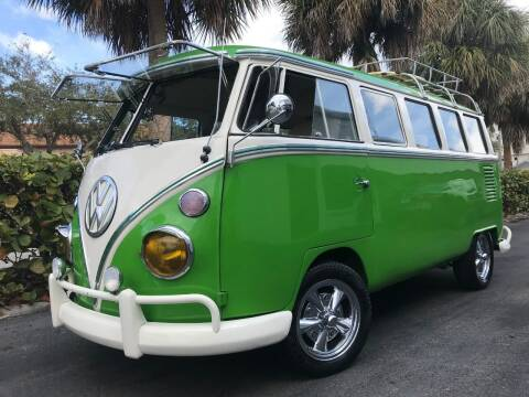 1973 Volkswagen Bus for sale at DS Motors in Boca Raton FL