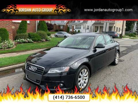 2009 Audi A4 for sale at Jordan Auto Group in Paterson NJ