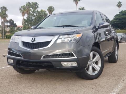 2011 Acura MDX for sale at Masi Auto Sales in San Diego CA
