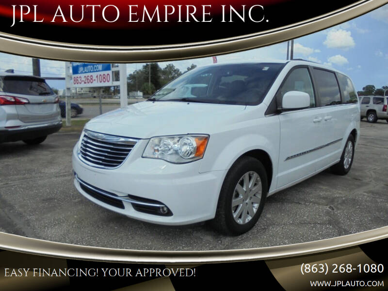 2016 Chrysler Town and Country for sale at JPL AUTO EMPIRE INC. in Auburndale FL