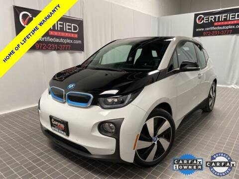2017 BMW i3 for sale at CERTIFIED AUTOPLEX INC in Dallas TX