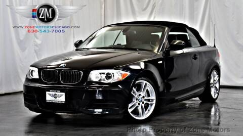 2012 BMW 1 Series for sale at ZONE MOTORS in Addison IL