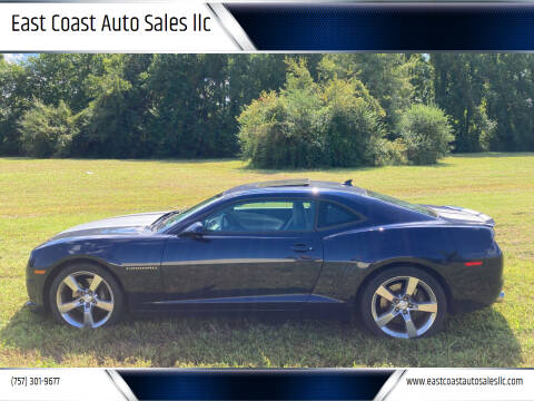 2011 Chevrolet Camaro for sale at East Coast Auto Sales llc in Virginia Beach VA