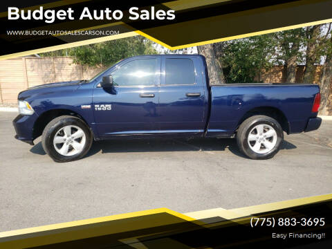 2016 RAM Ram Pickup 1500 for sale at Budget Auto Sales in Carson City NV