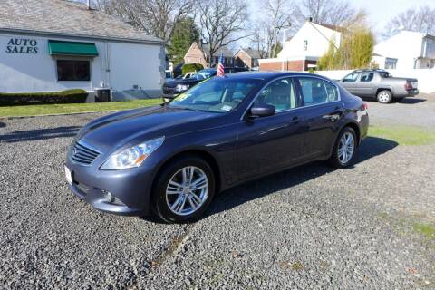 2013 Infiniti G37 Sedan for sale at FBN Auto Sales & Service in Highland Park NJ