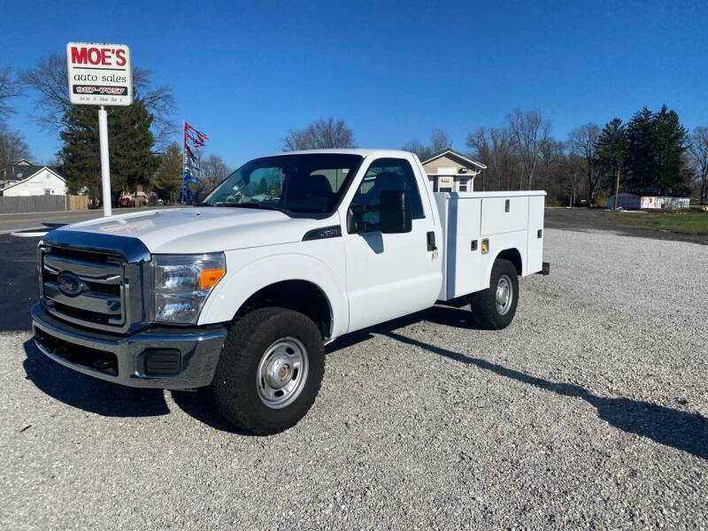 2016 Ford F-250 Super Duty for sale at MOES AUTO SALES in Spiceland IN