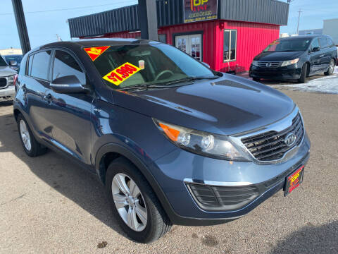 2012 Kia Sportage for sale at Top Line Auto Sales in Idaho Falls ID