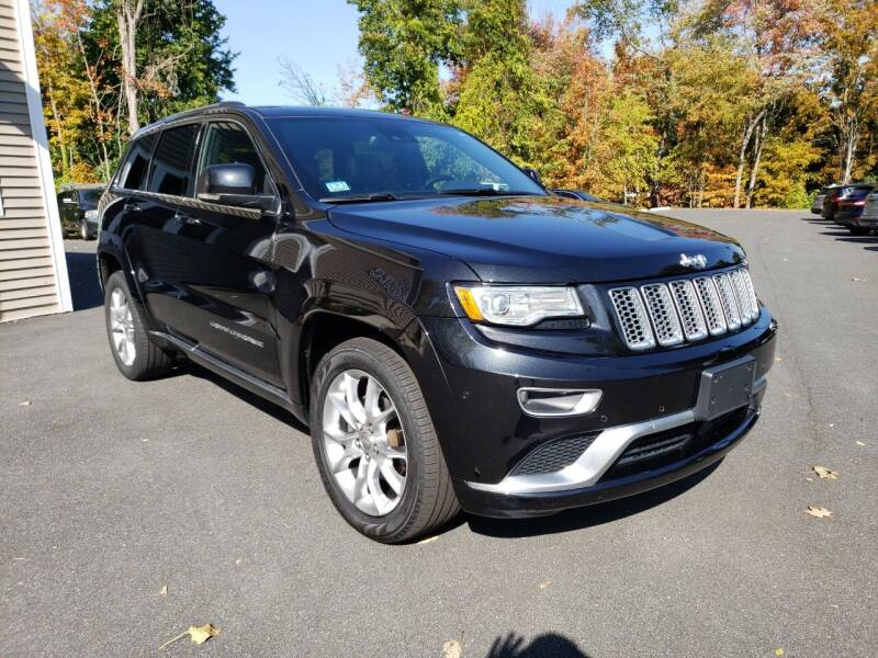 2016 Jeep Grand Cherokee for sale at KLC AUTO SALES in Agawam MA