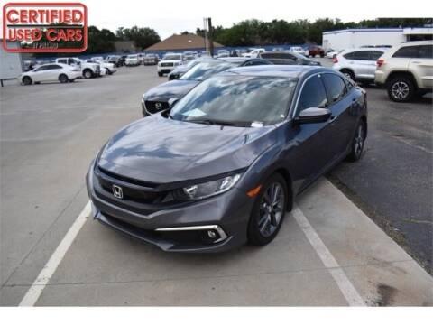 2020 Honda Civic for sale at South Plains Autoplex by RANDY BUCHANAN in Lubbock TX