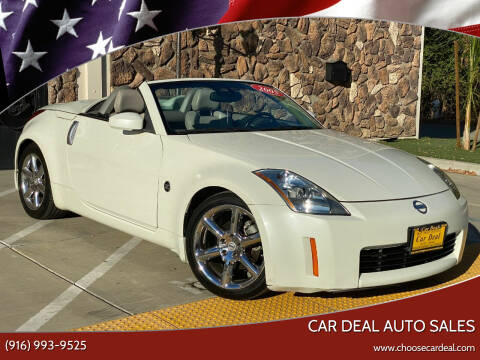 2005 Nissan 350Z for sale at Car Deal Auto Sales in Sacramento CA