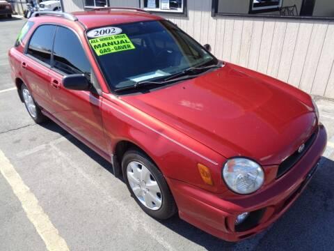 2002 Subaru Impreza for sale at BBL Auto Sales in Yakima WA