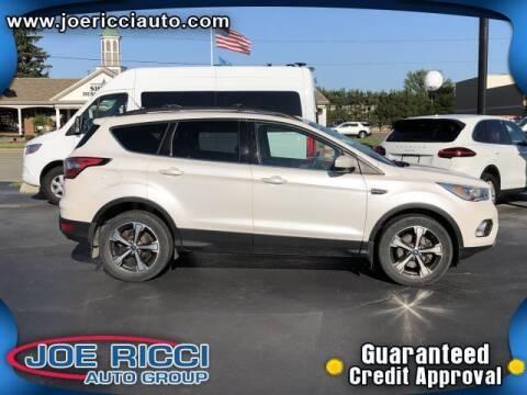 2018 Ford Escape for sale at JOE RICCI AUTOMOTIVE in Clinton Township MI