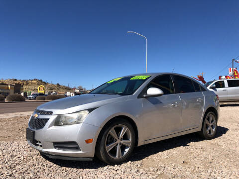 2012 Chevrolet Cruze for sale at 1st Quality Motors LLC in Gallup NM