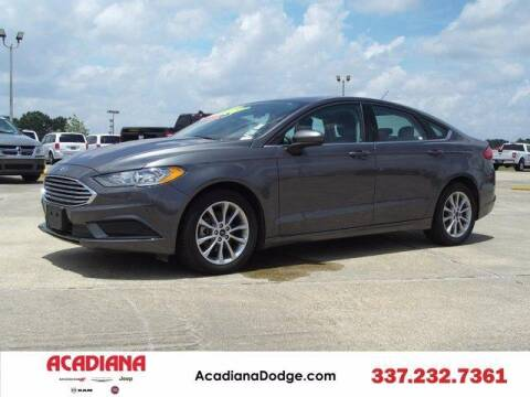 2017 Ford Fusion for sale at ACADIANA DODGE CHRYSLER JEEP in Lafayette LA