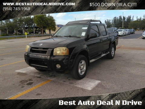 2002 Nissan Frontier for sale at Best Auto Deal N Drive in Hollywood FL