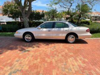 1997 Lincoln Continental for sale at Calvary Cars & Service Inc. in Norfolk VA