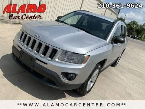 2011 Jeep Compass for sale at Alamo Car Center in San Antonio TX