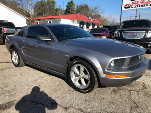 2007 Ford Mustang for sale at SR Motors Inc in Gainesville GA