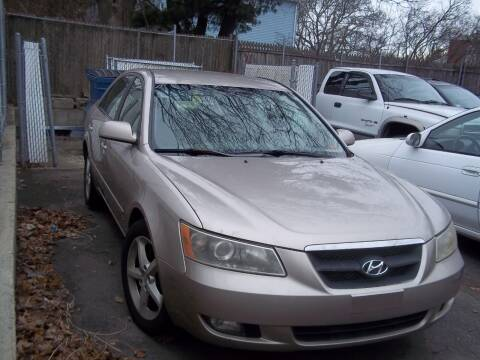 2007 Hyundai Sonata for sale at J & T Auto Sales in Warwick RI